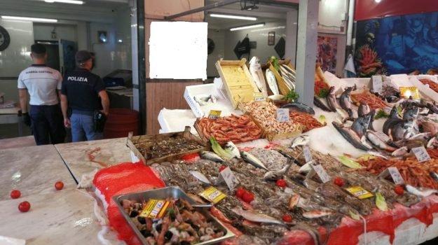Sequestrato pesce non tracciato al mercato di Palermo