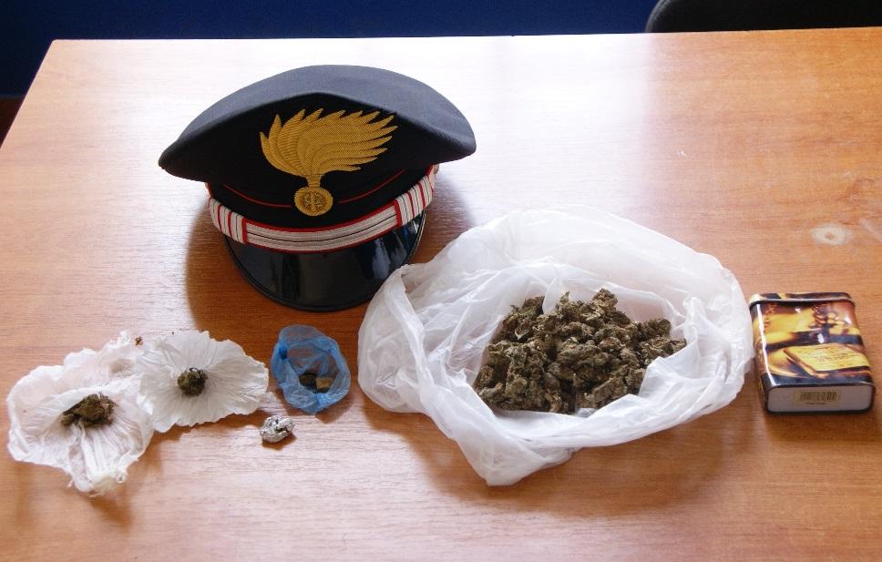 Augusta, ragazzo preso a Monte Sant'Elena con la marijuana