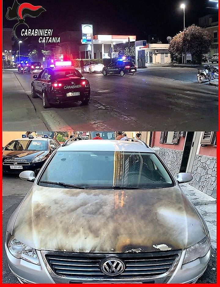 Biancavilla, incendia l'auto dell'ex fidanzata: denunciato