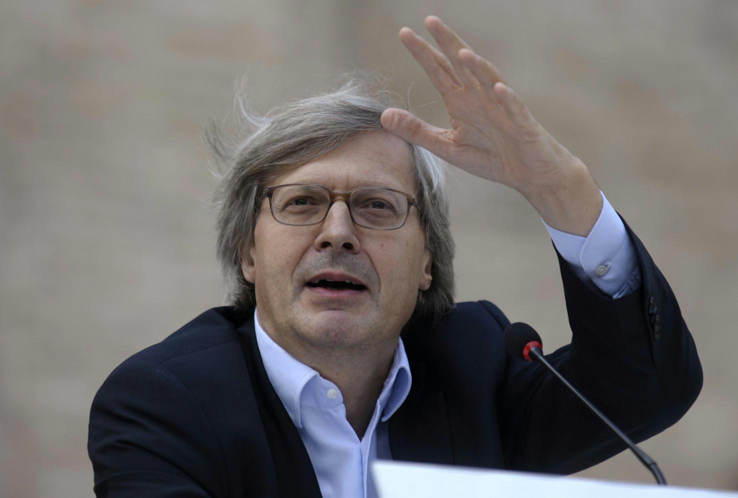 Sgarbi a Palermo per inaugurare mostra sui fiamminghi