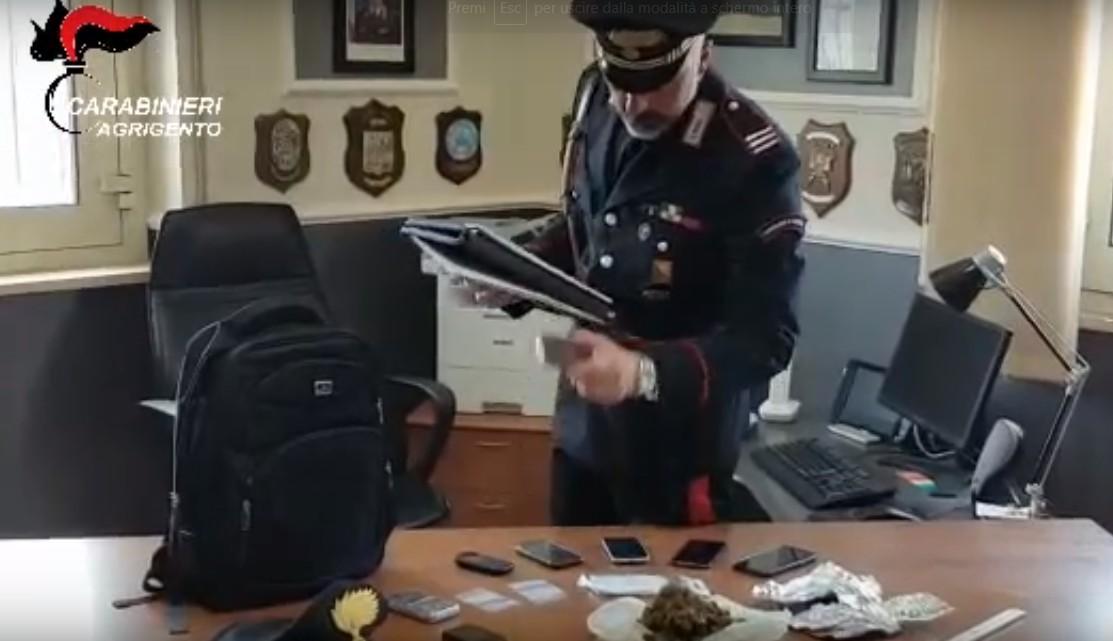 Droga, trovati con hashish da spacciare: due arresti nell'Agrigentino