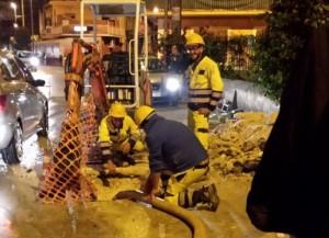 Siracusa, zona Teracati senz'acqua: Siam al lavoro per riparare guasto