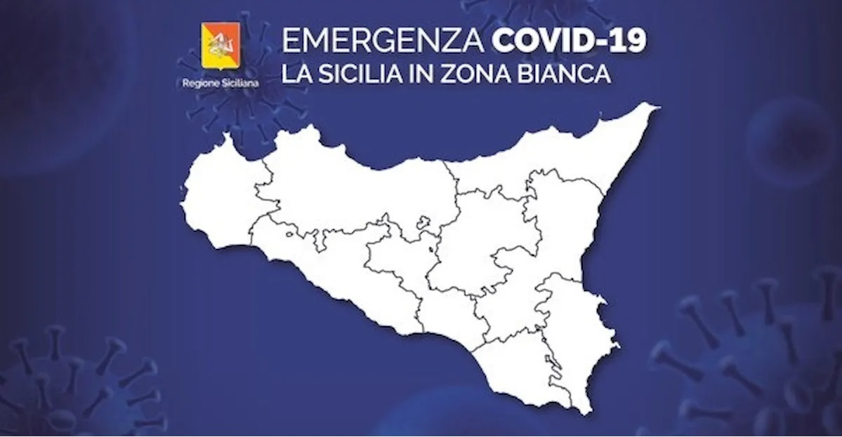 Covid, dopo 40 giorni in 'giallo' da oggi la Sicilia è in 'bianco'
