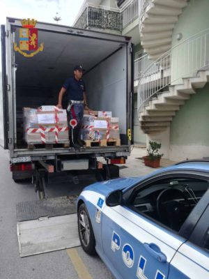 Sicurezza alimentare, sequestrati a Milazzo 4mila prodotti surgelati