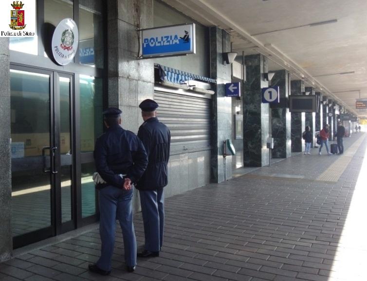 Sicurezza nelle stazioni ferroviarie italiane, nove arresti