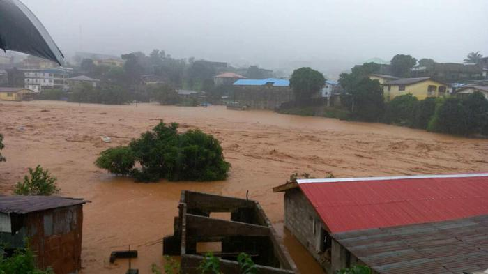 Tragica alluvione in Sierra Leone: più di 300 morti