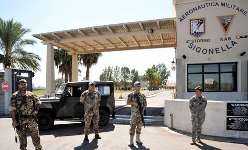 Militari americani di Sigonella a Modica per progetto di solidarietà  a favore dell'ANFFAS
