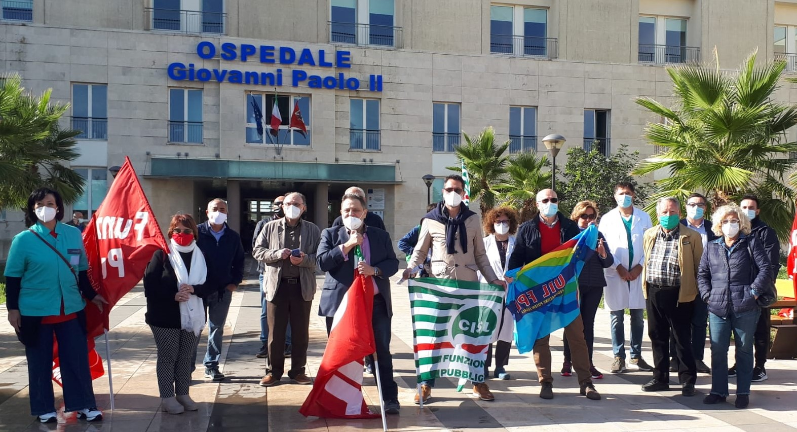 Emergenza sanità, a Ragusa mobilitazione dei rappresentanti sindacali dei servizi pubblici