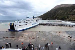 Maltempo, bloccate le linee marittime Trapani-Isole Egadi e Palermo-Ustica