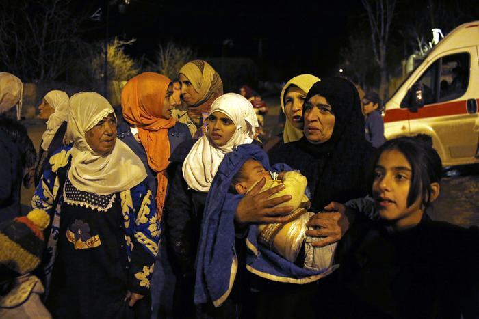 L'Onu chiede alla Turchia di aprire le frontiere per i rifugiati siriani