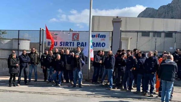 Carini, secondo giorno di sciopero alla Sirti contro gli esuberi
