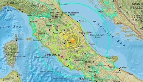Terremoto nella notte sull'Appennino, magnitudo di 3.7