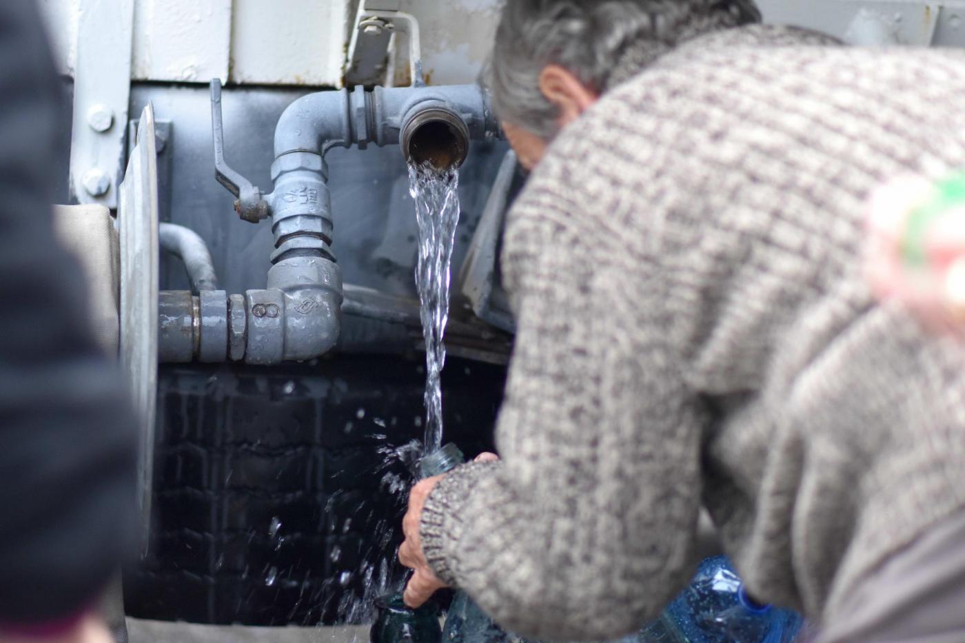 Messina, torna l'acqua al villaggio Santa Lucia Sopra Contesse
