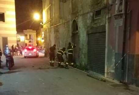 Palermo, crollano tetto e solaio di una palazzina disabitata