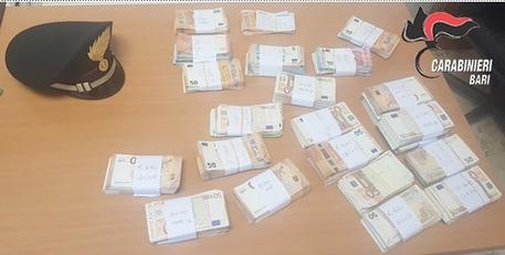 Riciclaggio a Bari, genero e cognata del boss con 200mila euro nel materasso