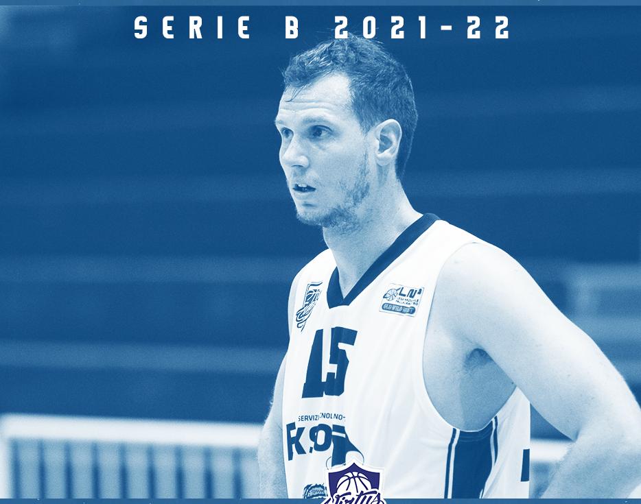 Basket, serie B maschile: la Virtus Kleb Ragusa riparte dal capitano Andrea Sorrentino