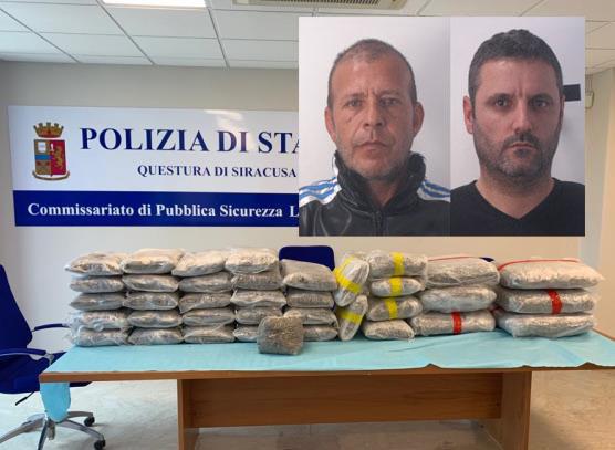 Più di cento chili di marijuana in una casa di Agnone: due arresti