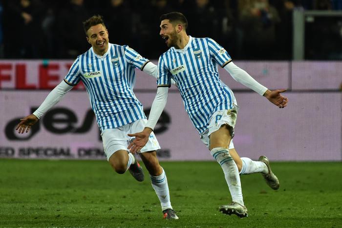 Calcio, nel posticipo di serie A la Spal vince in rimonta in casa dell'Atalanta