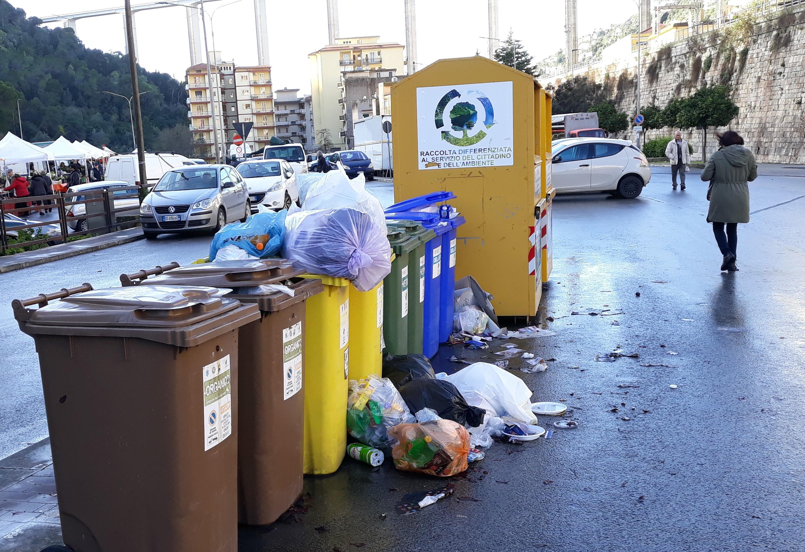 Modica, sciopero netturbini: fine settimana nero per l'igiene urbana