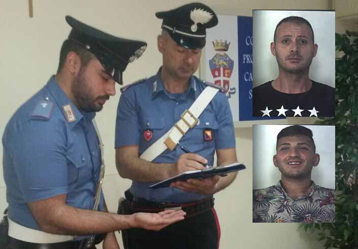 Siracusa, sorpresi a vendere la cocaina: due finiscono ai domiciliari