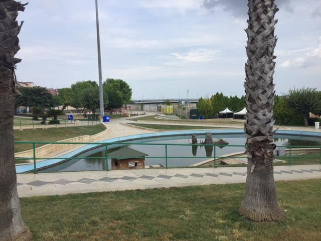 Rosolini, la vasca di Verde a Valle diventa uno stagno