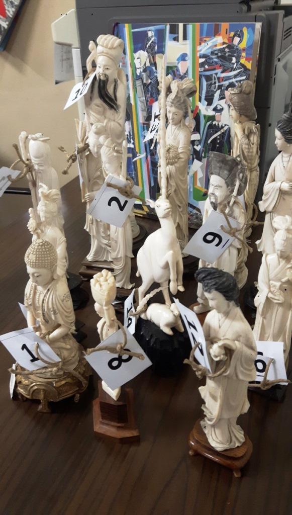 Catania, sequestrati oggetti in avorio in un negozio di antiquariato