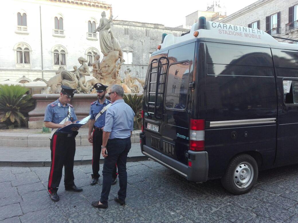 Più carabinieri a Siracusa, istituita la Stazione mobile a Ortigia