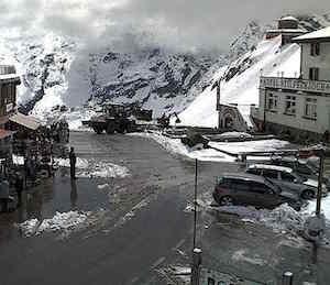 Prima neve in Trentino Alto Adige, chiusi i passi Stelvio Rombo e Pennes