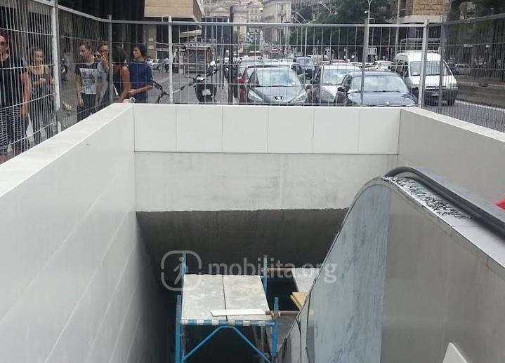 Metropolitana, martedì a Catania l'apertura della stazione Stesicoro