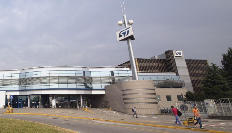 STMicroelettronics, 2,3 miliardi di dollari di ricavi nel primo trimestre