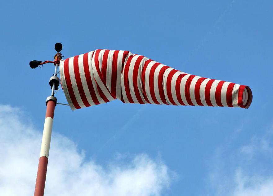 Stop al caldo anomalo in Italia, temperature in calo e forte vento