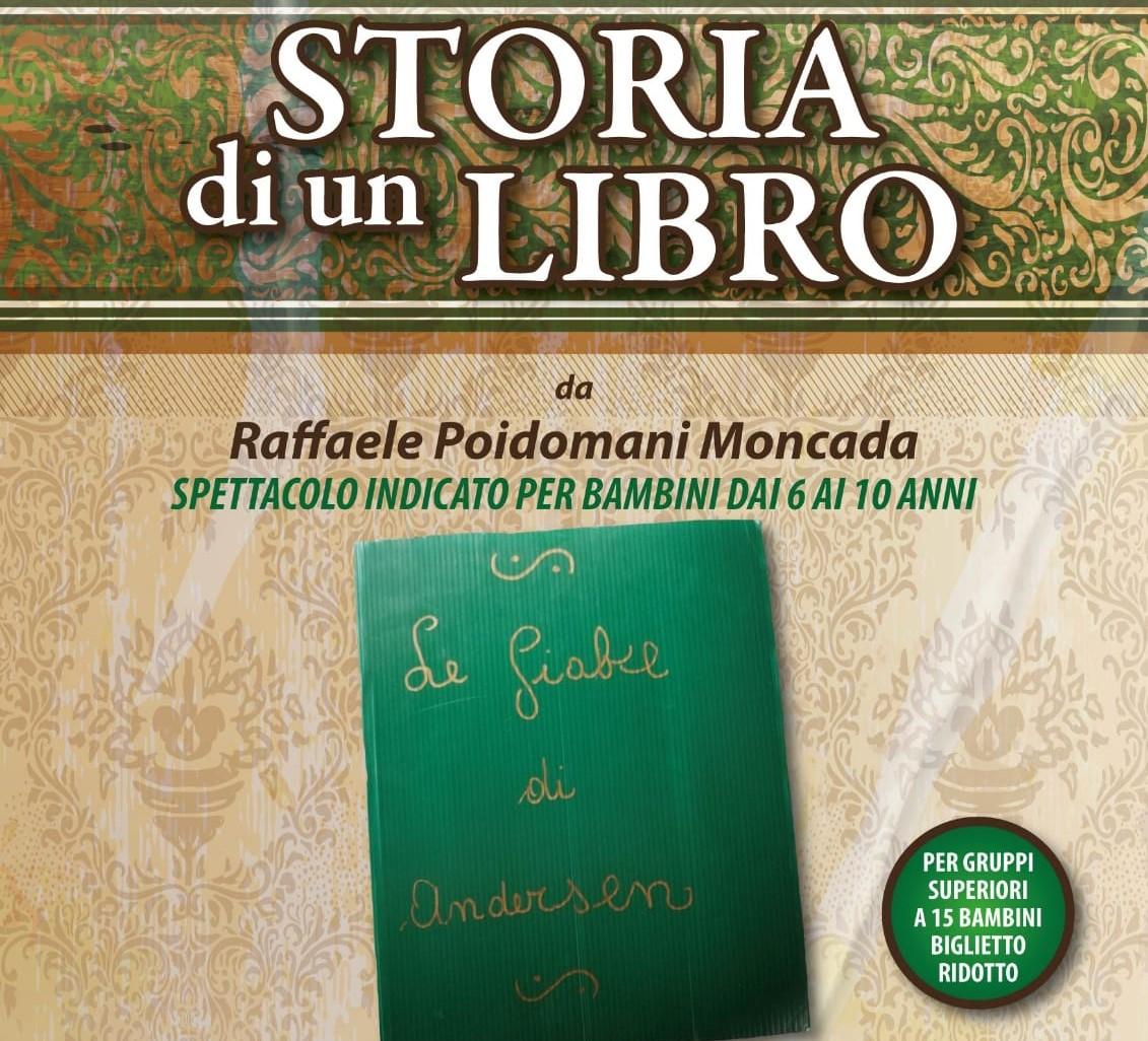"""Modica, """"Storia di un libro"""": al Garibaldi spettacolo su una favola di Raffaele Poidomani"""