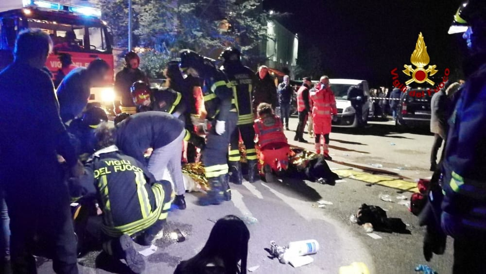 Strage in discoteca con lo spray al peperoncino, processo col rito immediato ad Ancona