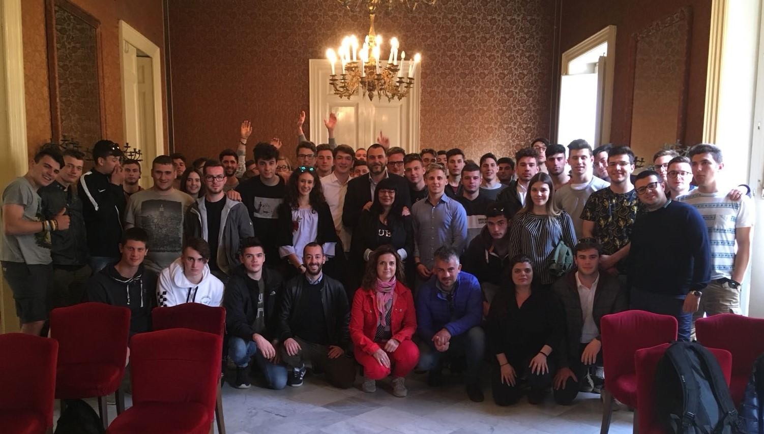 Vittoria, al Comune studenti della Scuola Enologica di Conegliano Veneto