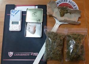Ferla, nascondevano in auto 117 grammi di marijuana: 2 arrestati