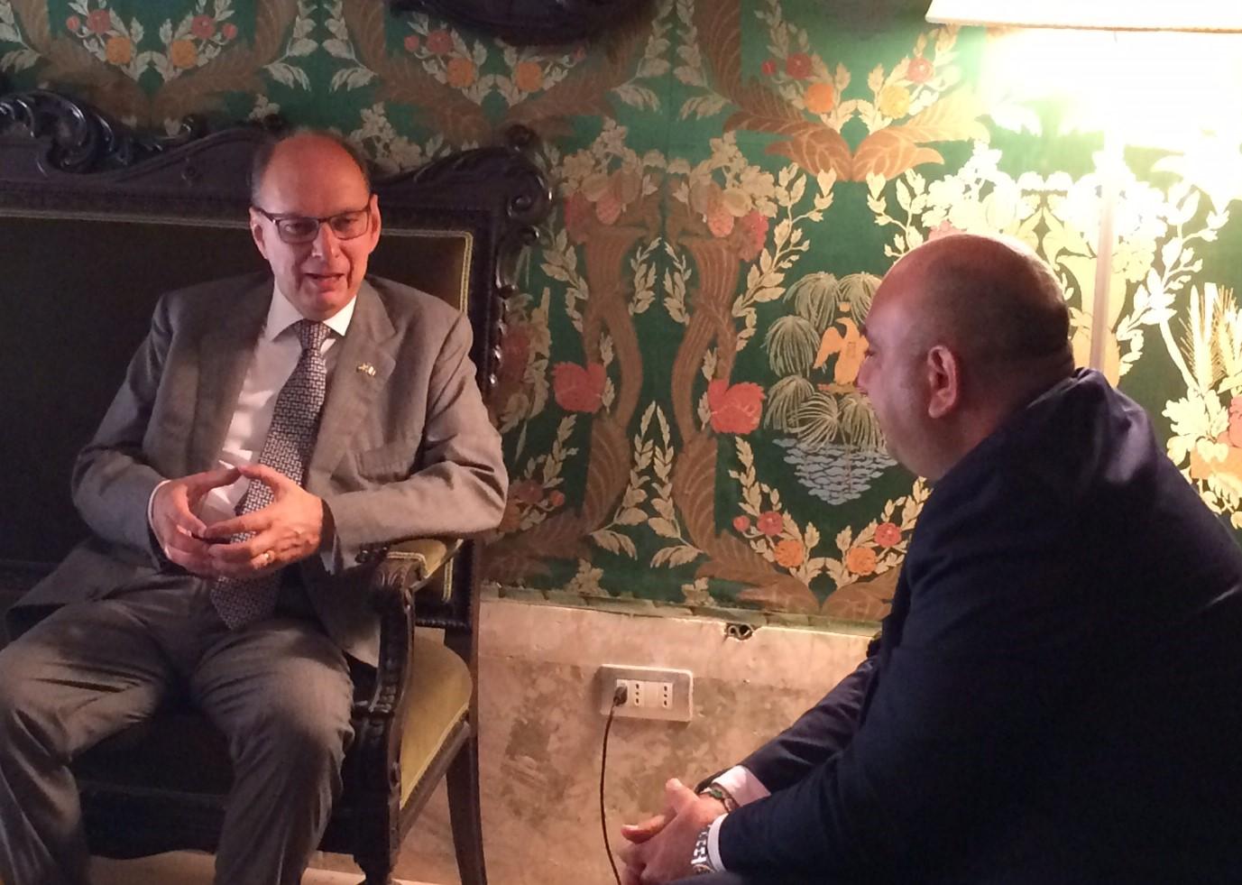 Siracusa, in sindaco riceve l'ambasciatore di Svezia