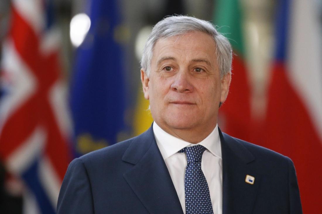 """Tajani: """"Intendo continuare a presiedere il Parlamento europeo"""""""