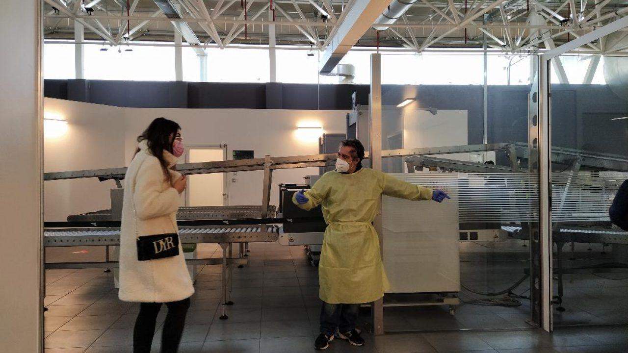 Covid: ripreso lo screening per i passeggeri all'aeroporto di Catania