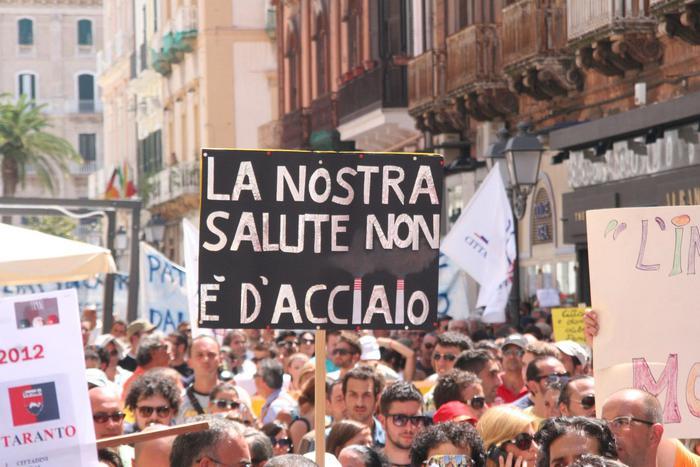 Malattie per il lavoro, la 'maglia nera' tocca a Taranto