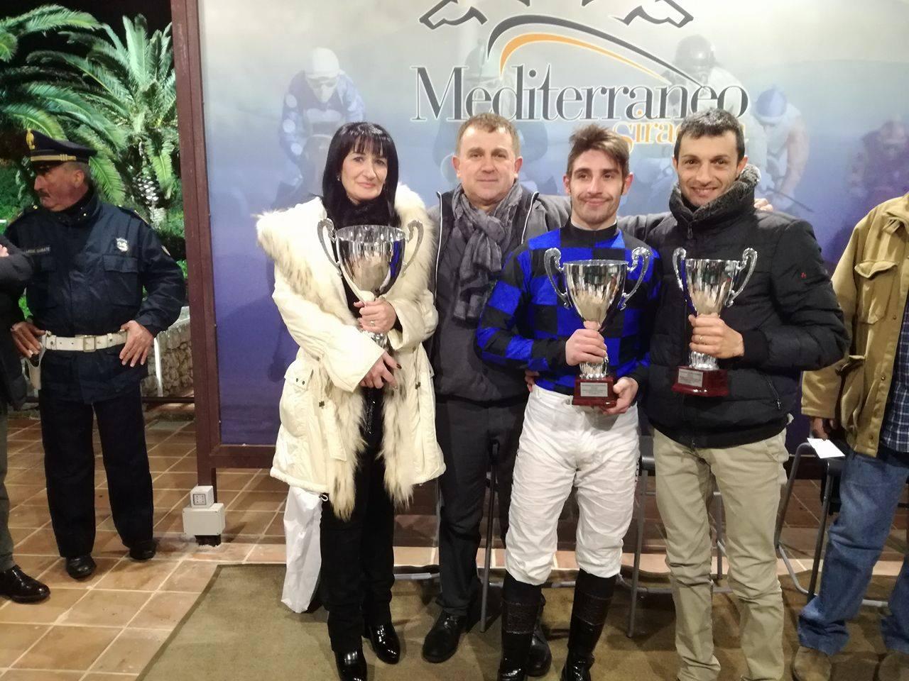 Galoppo a Siracusa, Celticus vince la Coppa d'oro nel Gran galà