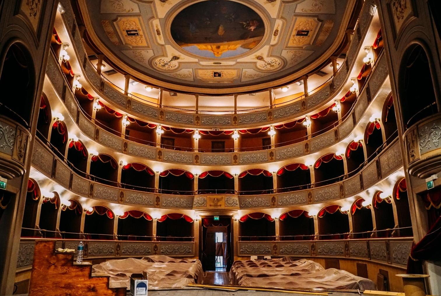 Modica, in dirittura d'arrivo i lavori di ammodernamento del Teatro Garibaldi