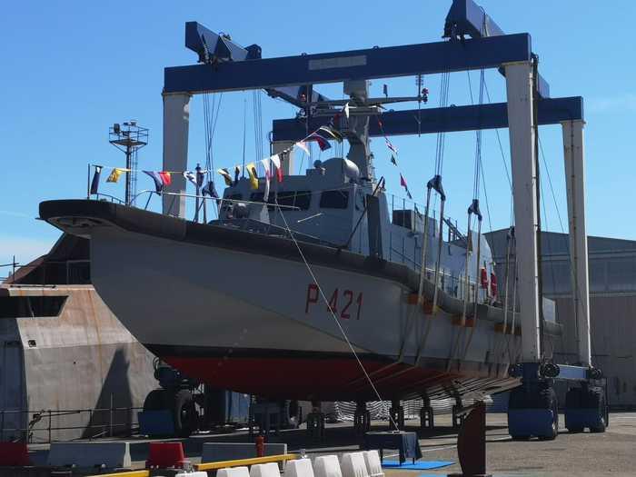 Varata a Messina la nave della Marina Militare 'Tullio Tedeschi'