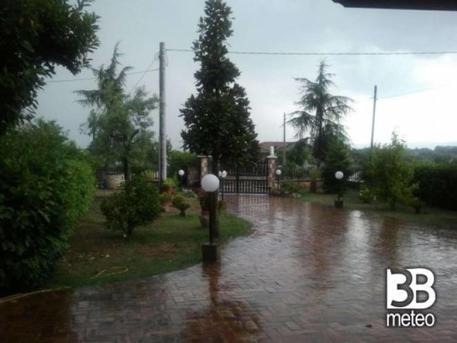 Ciclone Mediterraneo sullo Ionio, temporali e mareggiate