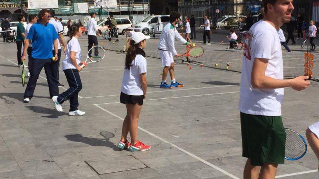 """Tennis in piazza"""", domani si gioca al Duomo di Monreale per la seconda tappa"""