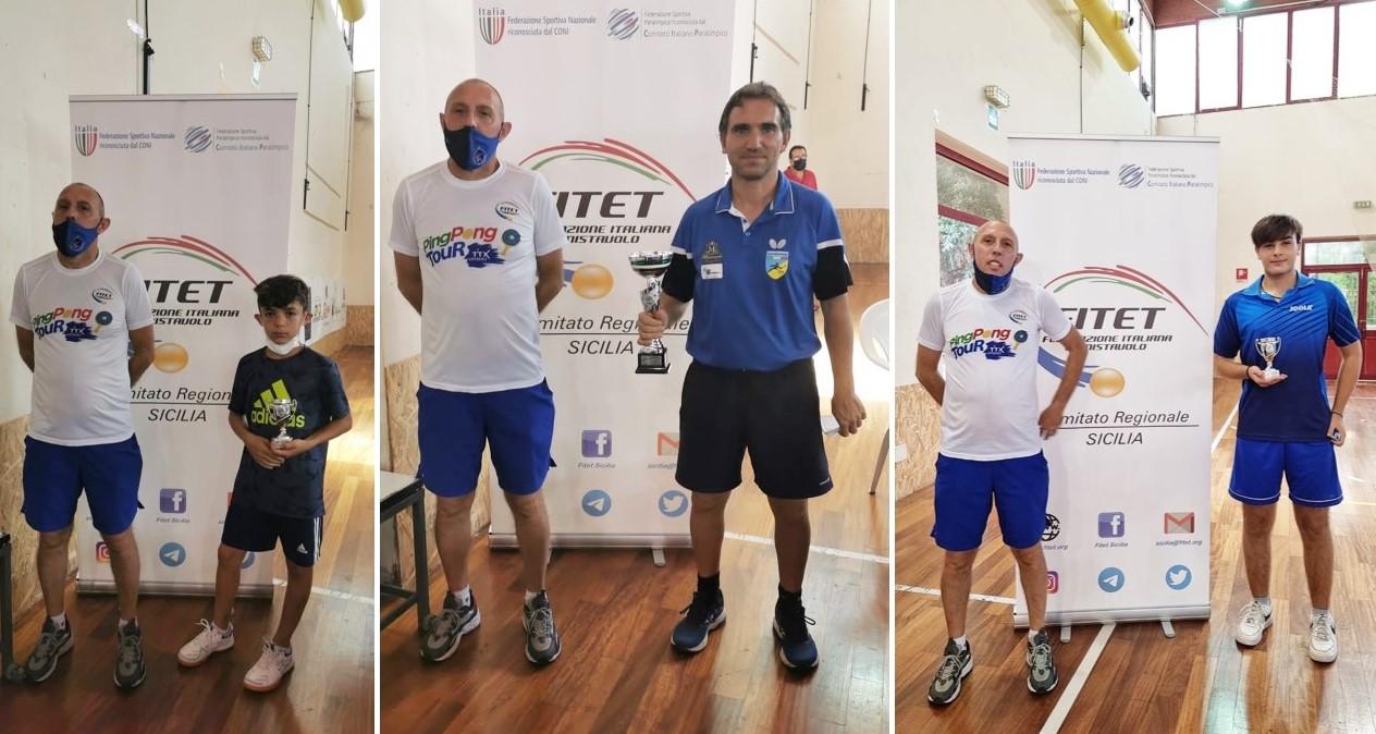 Tennis tavolo, i giovani atleti di Canicattini si qualificano ai Campionati Italiani di categoria