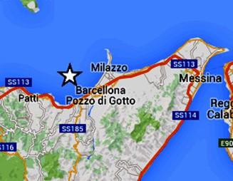 Scossa di terremoto in provincia di Messina