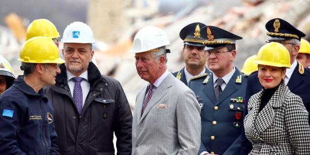 Terremoto: il sindaco di Amatrice domani incontra il Principe Carlo