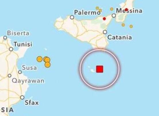 Terremoto nel Canale di Sicilia, scossa avvertita a Pachino, Portopalo e  Pozzallo