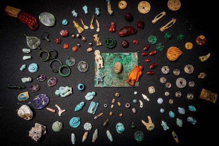 A Pompei spunta il tesoro della fatucchiera