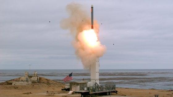 Usa, primo test missilistico dopo il ritiro dal trattato Inf